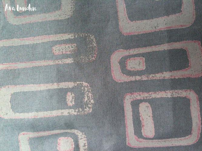 Textildruck Detail