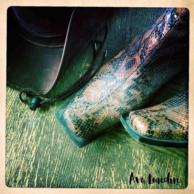 Cowboyhut Cowboystiefel