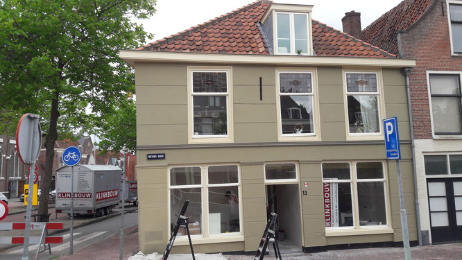 Schilderwerk en kleur advies gemeentelijk monument Leiden