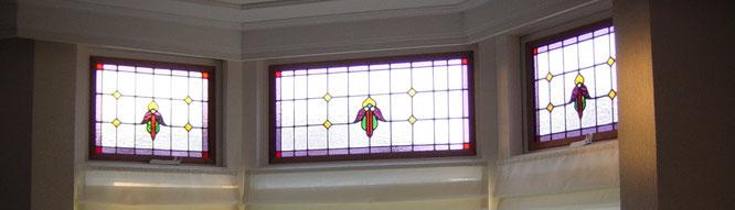 Glaszetter Leiden restaureert ook glas in lood en wij plaatsen geïsoleerd glas in lood in dubbelglas