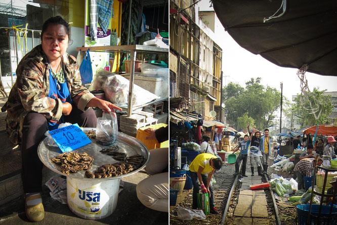 railway market in mahachai