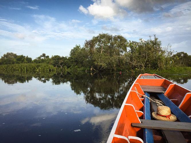 Bootstour auf dem Thale Noi