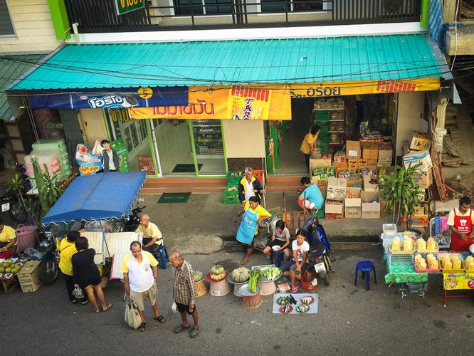Markt in Trang