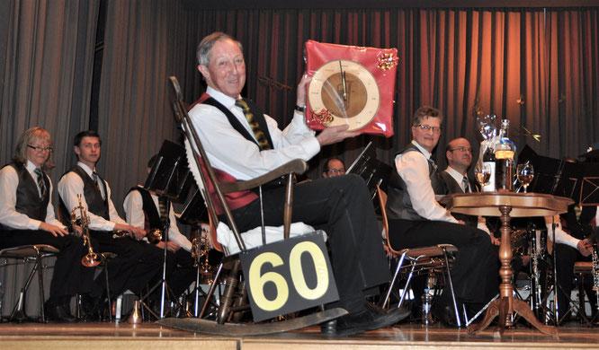 Erich Baumann, CISM-Veteran mit 60 Aktivjahren in der MG Starrkirch-Wil