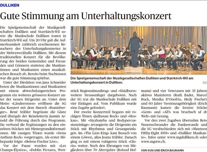Oltner Tagblatt, 14.5.2019, S. 24
