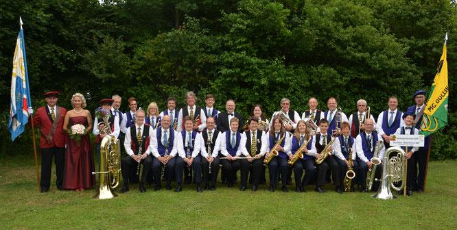 Die Spielgemeinschaft Dulliken - Starrkirch-Wil am Regionalmusiktag, 25.6.2017