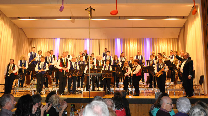 Abendunterhaltung in Starrkirch-Wil am 18.11.2017, Dirigent Kurt Vogel