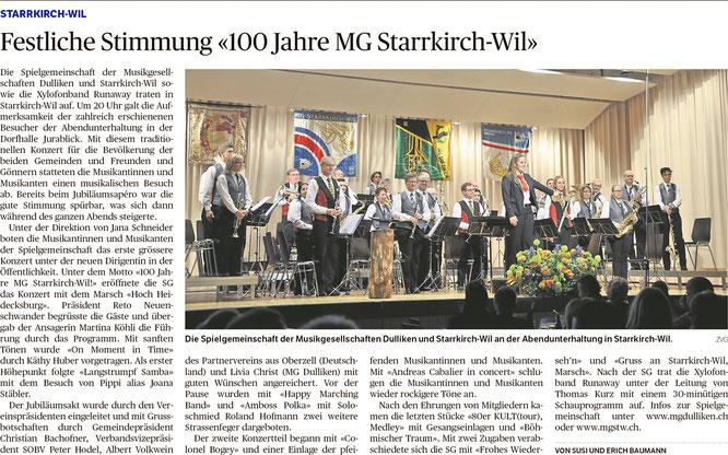 Oltner Tagblatt, 23.11.2018, S. 24
