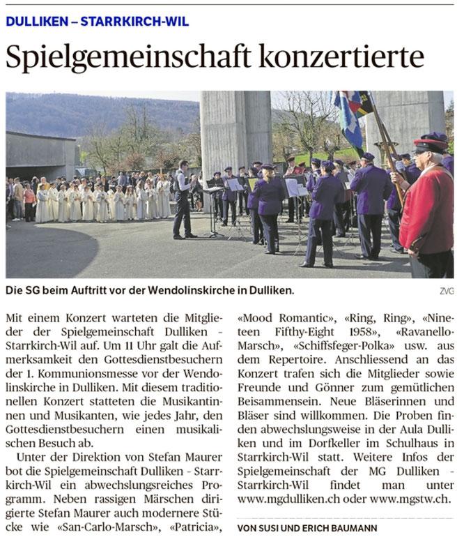 Oltner Tagblatt, 17.4.2018, S. 24