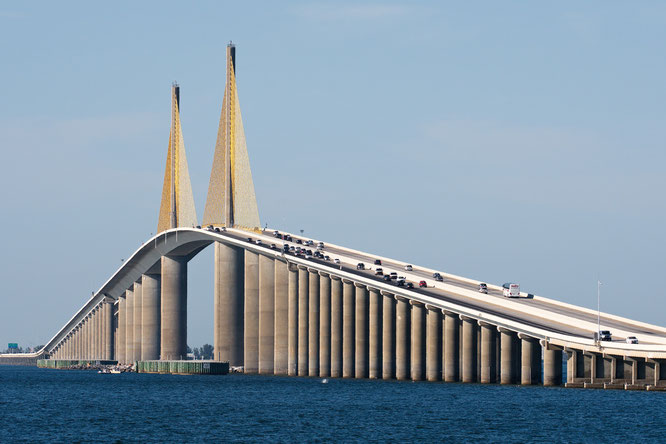 Sunshine Skyway Bridge; Tampa Bay
