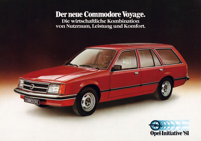 Opel Commodore Voyage Flyer 03 1981 Wissenswertes 252 Ber