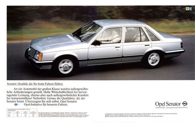 Opel Senator A1 1981