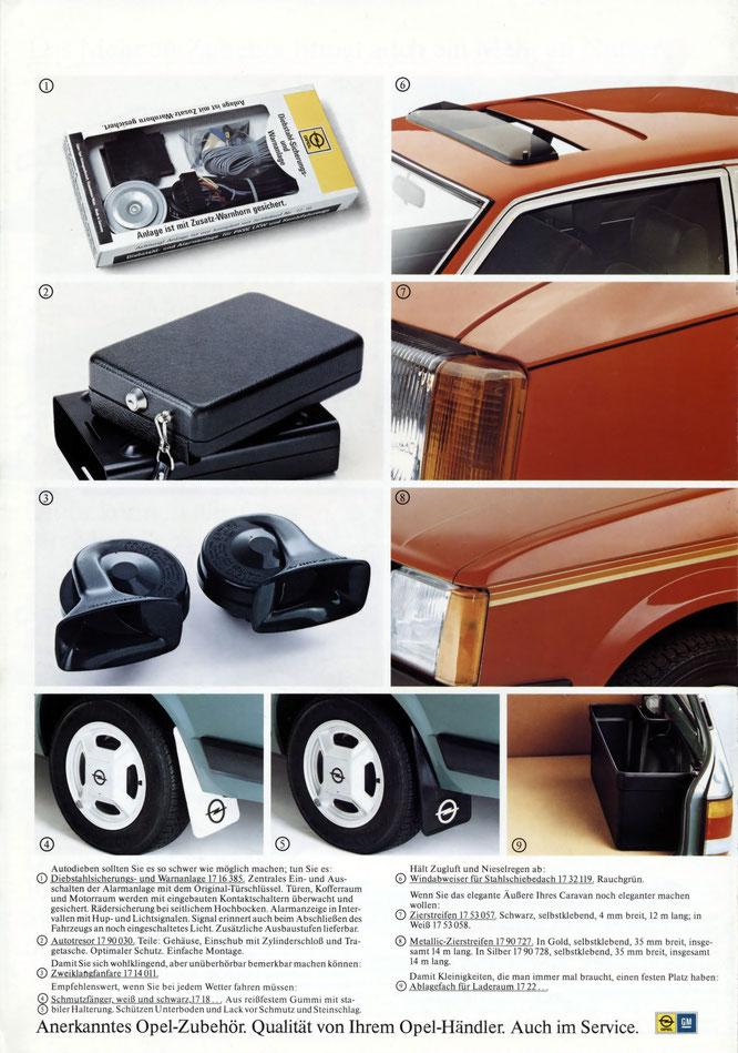 Opel Zubehör