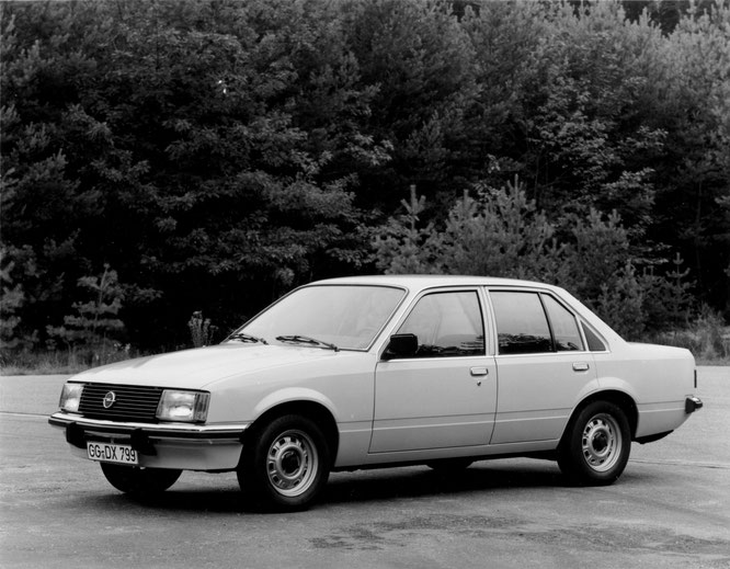Opel Rekord E 2,1 D