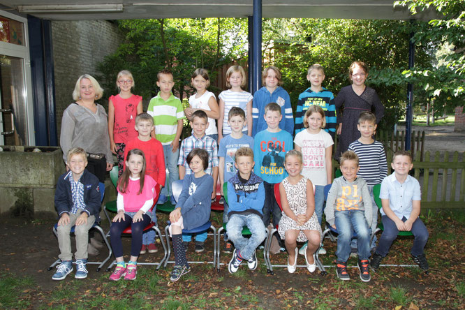 Klasse von 3c Frau Altena