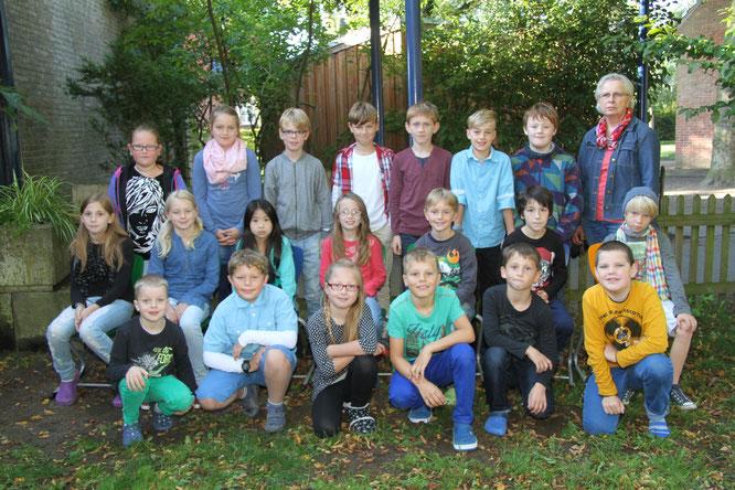 4c Klasse von Frau Holtkamp-Ketteler