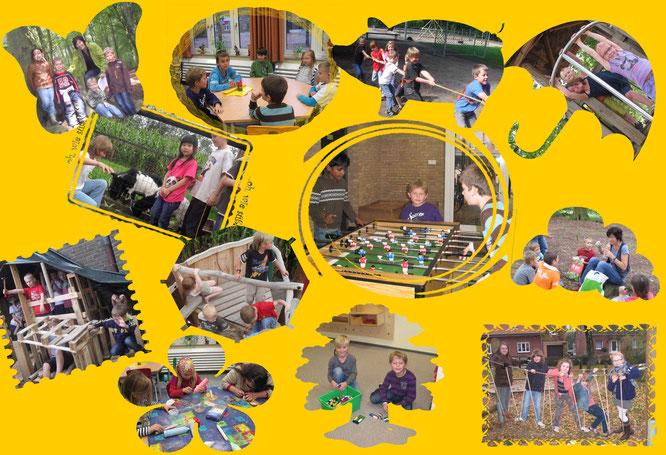 Die Offene Ganztagsschule der Cordulaschule bietet für jedes Kind spannende Spielaktionen und viele Beschäfigungsideen.