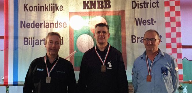 Johan Vos, Rob Wierckx, Rien Brouwers