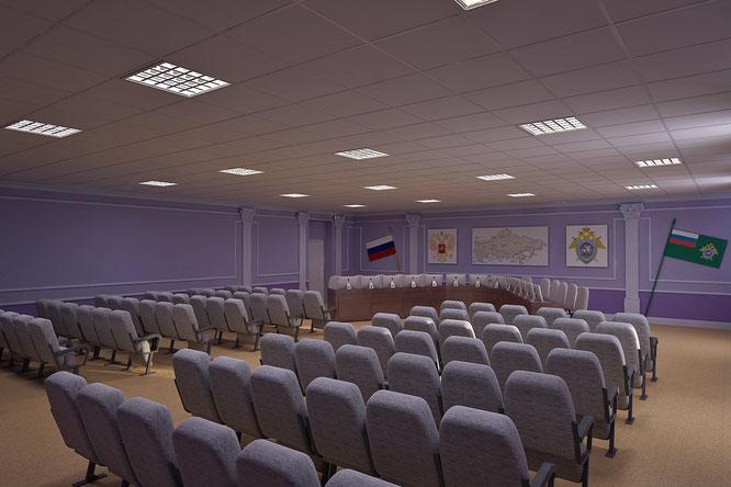 """дизайн зала заседаний  """" дизайн интерьера обнинск """""""