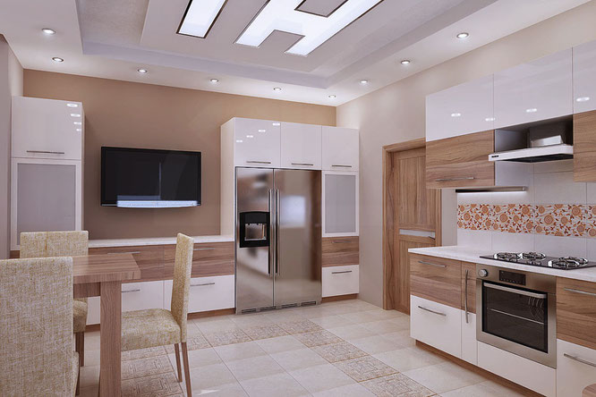 """дизайн кухни в загородном доме  """" дизайн интерьера """""""