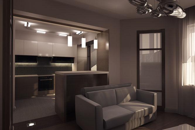 """дизайн квартиры мособлстрой  """" дизайн интерьера """""""