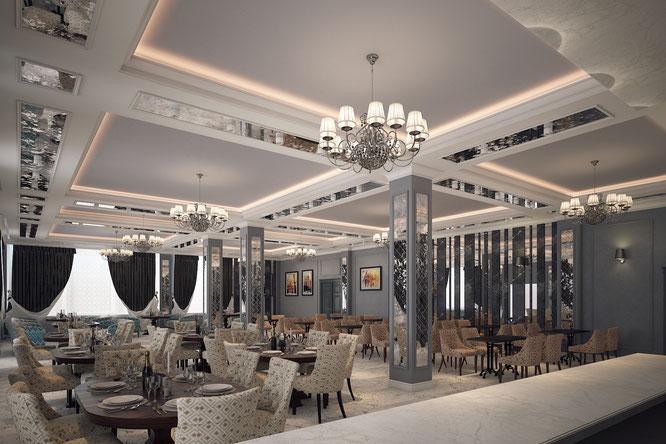 ресторан отель обнинск  дизайн