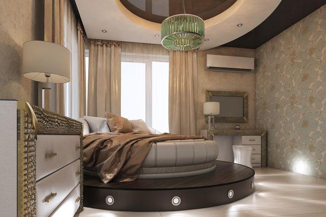 спальня гламур