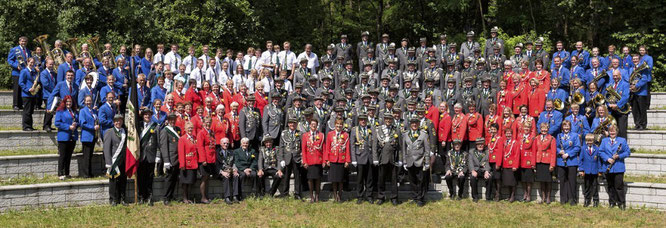 Schützenkompanie Salzhausen - Kompaniebild
