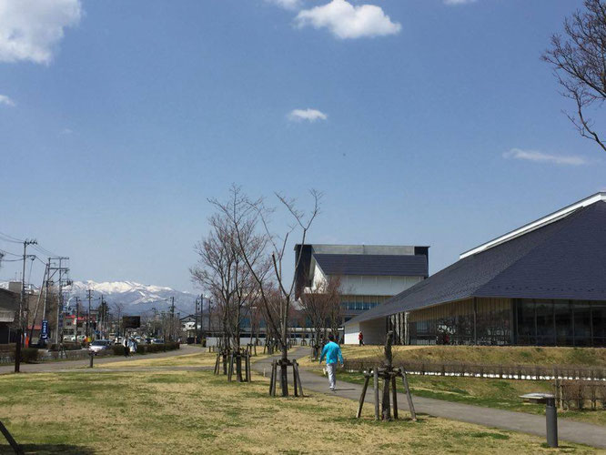 『ホピの予言』上映会会場、白河市立図書館
