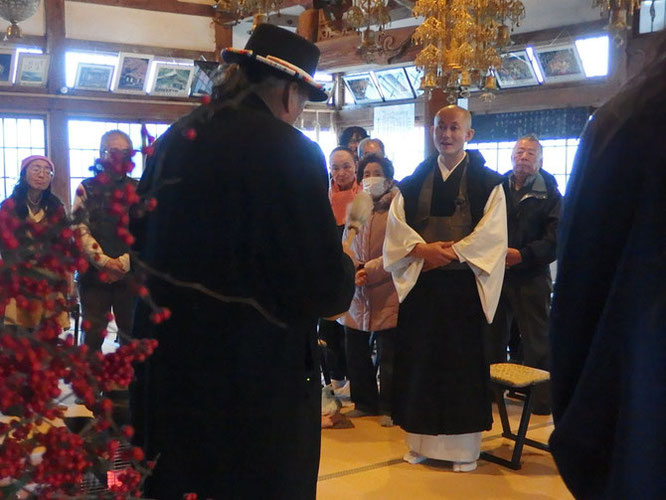 南相馬市-同慶寺-大地といのちの祈り2015-デニス-バンクス氏を迎えて