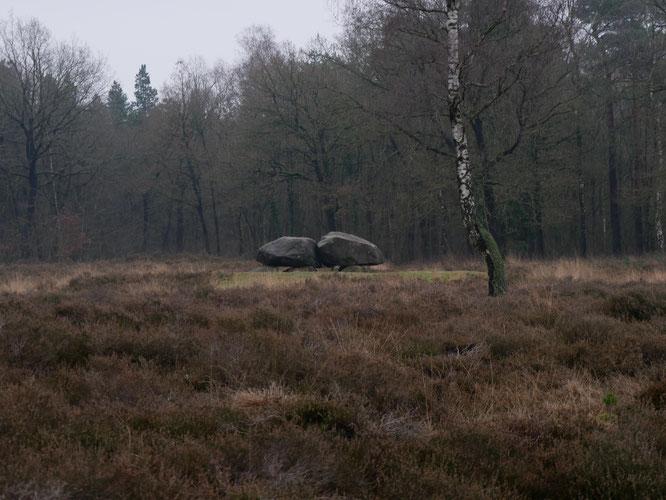 familie uitje Drenthe de hunebedden bezoeken