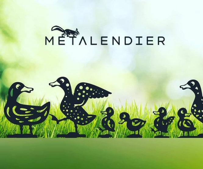 Tuindecoratie - De leukste metalen dieren