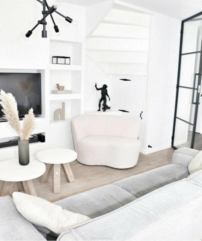 Hoe kun je een zwart-wit interieur het beste inrichten?