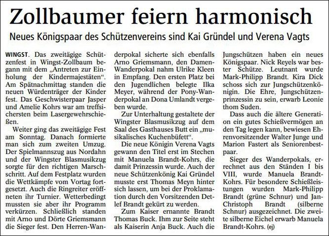 Niederelbe-Zeitung vom 15.07.2016