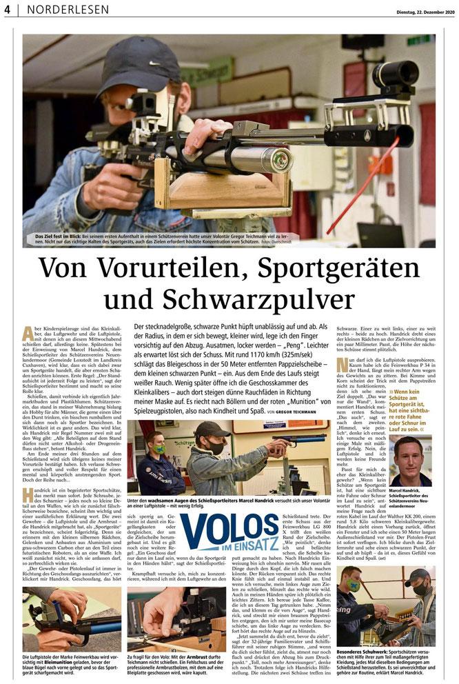 Zevener Zeitung 22.12.2020