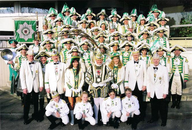 2003 stellt die Prinzengarde mit Prinz Peter II. wieder einen Prinzen