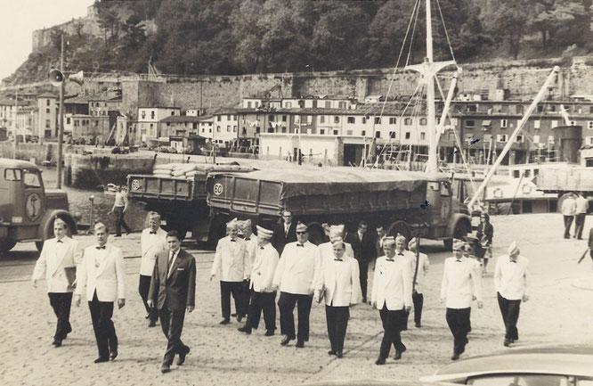 Prinzengarde in San Sebastian 1962