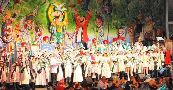 Karneval feiern in Leverkusen mit der Prinzengarde Leverkusen