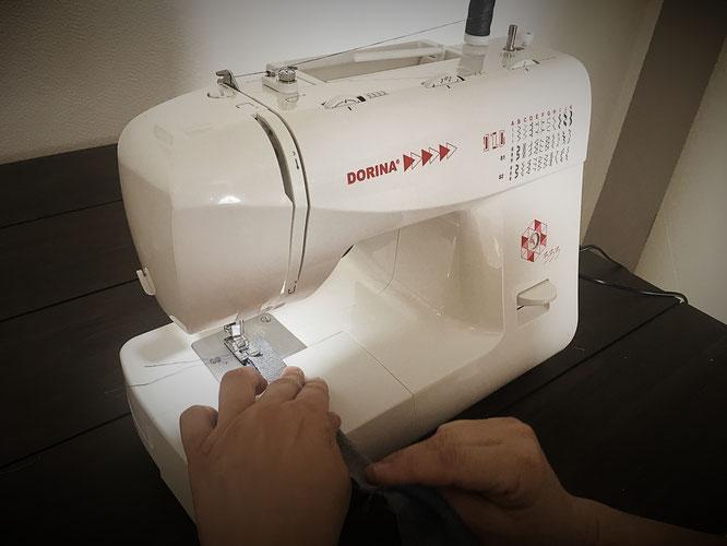 Die Nähmaschine wird testet und hier findet ihr die Rezension