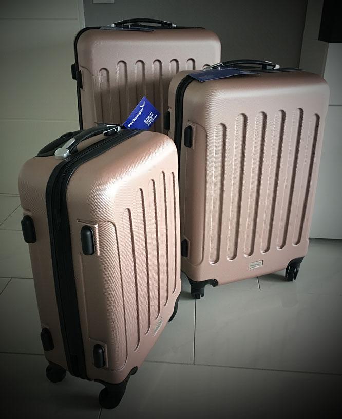 Produkttest Kofferset von Packenger
