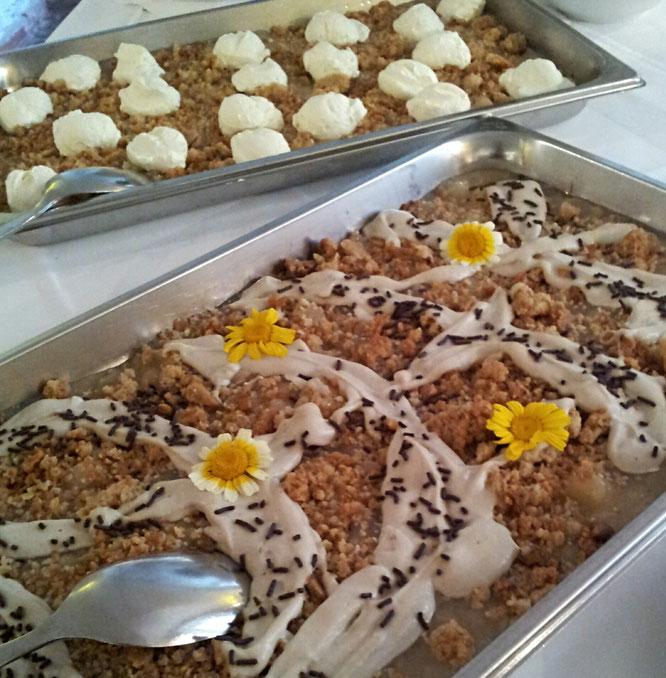 Gutshaus Parin, Biohotel, Ostsee, vegetarisches Dessert