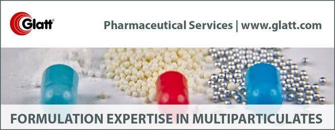 Glatt Pharmaceutical Services - your outsourcing partner when it comes to pellet formulation development.