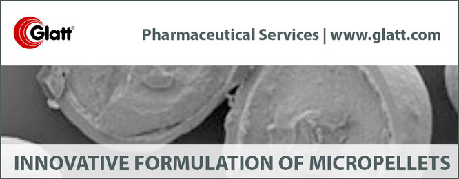 micropellets and microparticles for sustained release by glatt pharmaceutical services