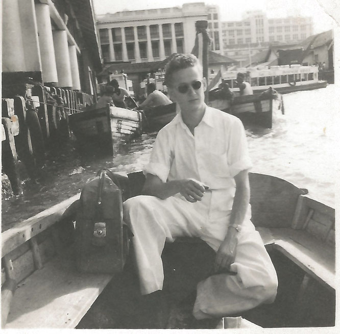 Mijn vader rond 1952