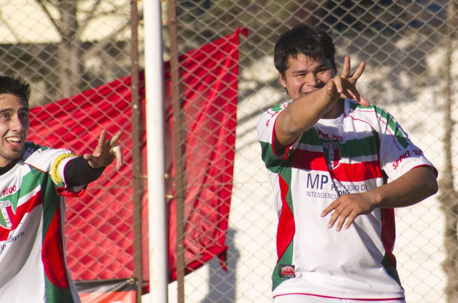 Federico Gómez quiere ratificar su racha goleadora en Jorge Newbery.