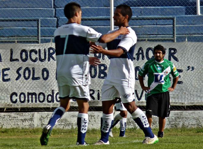 Hugo Videla anotó el segundo gol de la tarde.