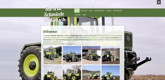 MB-Trac Schmiede Kiekbusch