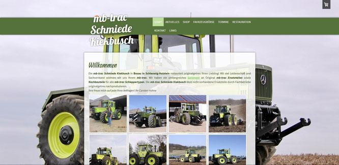 MB-Trac Schmiede Kiekbusch 2013, überarbeitet 2016