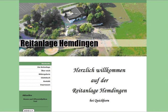Reitanlage Hemdingen 2010