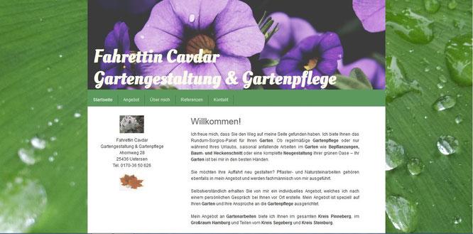 Gartengestaltung Cavdar
